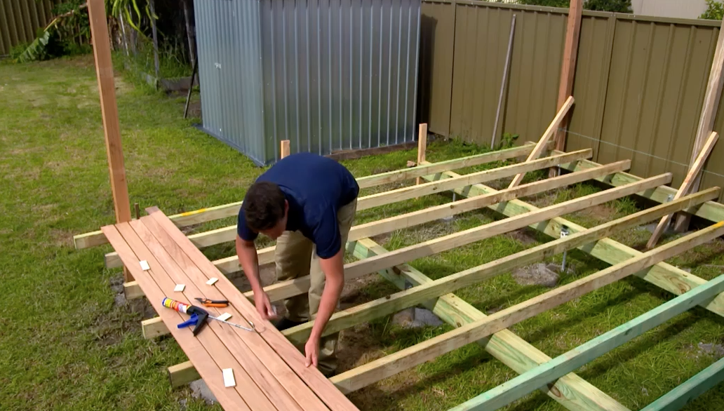 All videos selleys australia for Timber deck construction