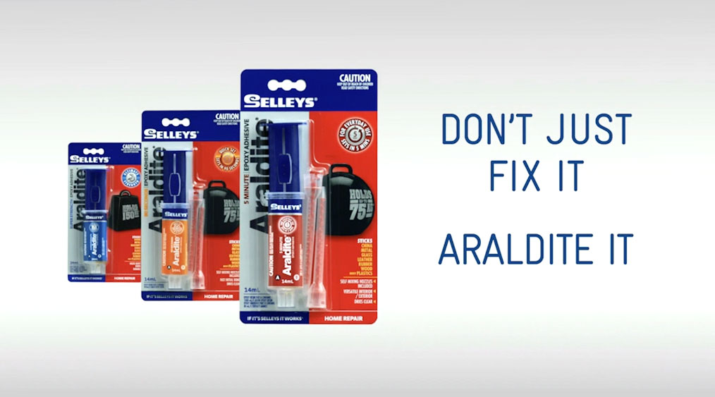 Araldite 2 Part Epoxies, a Superior Strength Adhesive from Selleys